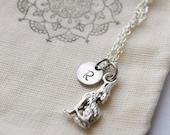 wolf charm necklace - wolf pack - friendship birthday gift