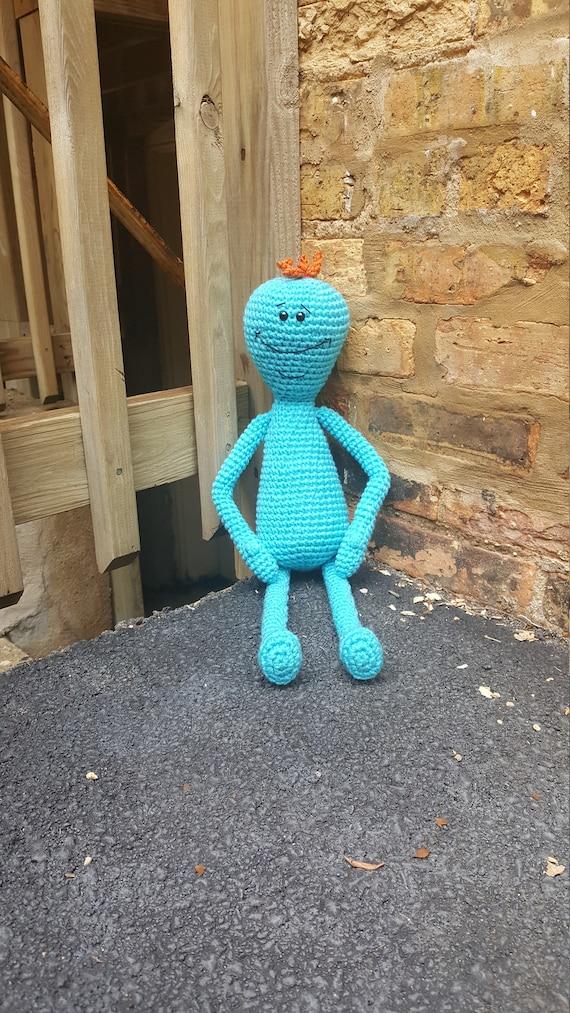 Mr Meeseeks Amigurumi Pattern Pdf Crochet Pattern Etsy