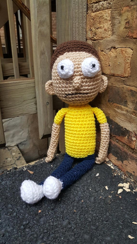 Morty Amigurumi Pattern Pdf Crochet Pattern Etsy