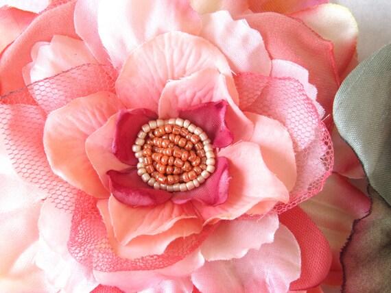 Pinup Hair Flower Accessory Ladies Vintage Style Hair Clip Bridal Prom Fashion Hair Pin Fashion Accessory