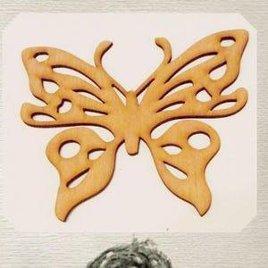 Fancy Butterfly Wood Cut Out