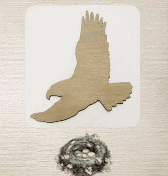 EAGLE Laser Bird cut mdf wood shape craft arts decoration ALL SIZES