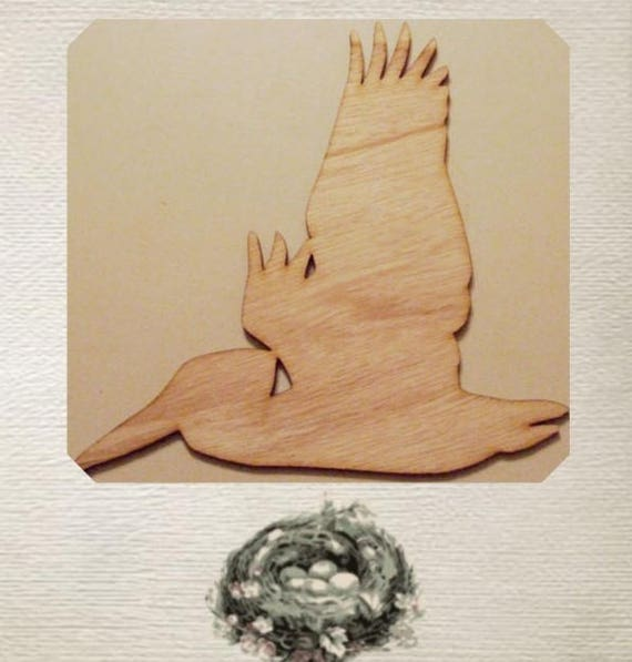 Pelican Wood Cut Out