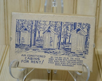 Vintage Tourist's Emergency Kit Gag Gift Joke Corn Cob Postcard