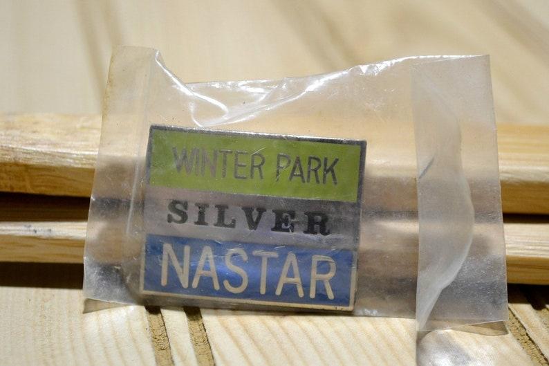 Vintage Winter Park Silver Nastar Pin Colorado Ski Skiing Badge Pinback  Medal Resort Souvenir Travel Collector Collectible
