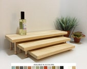 Display Tables Product Displays Nesting Tables Set of 3 Wooden Jewelry Displays Platforms Risers Stands