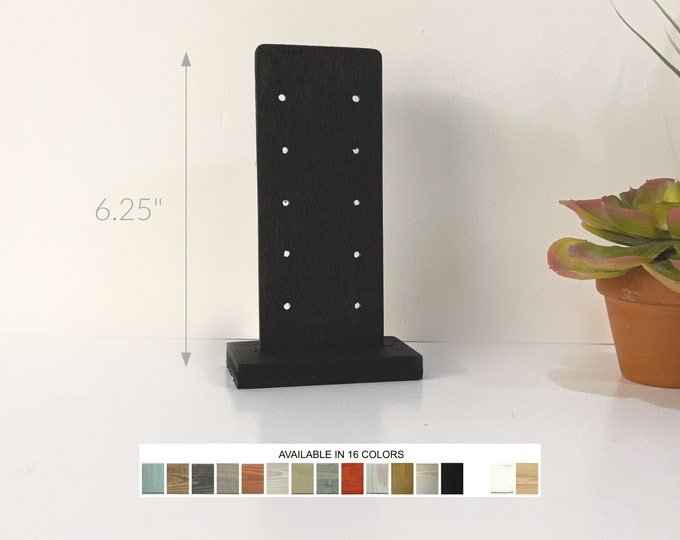 Earrings Displays Stud Post Cards Jewelry Displays Stands Holders for Retail Fixtures Craft Trade Shows Markets