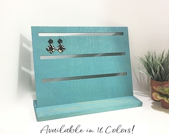 Slotted Earring and Earrings Card Display