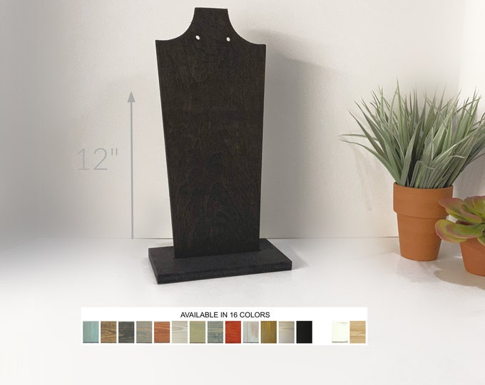 Necklace Displays Busts 12-inch