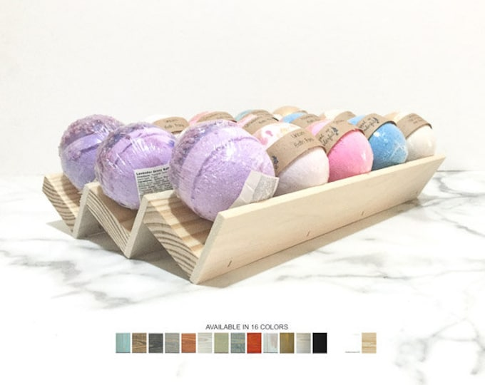 Soaps Bath Bombs Display Stand
