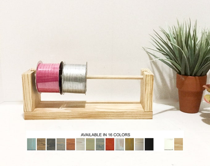 Ribbon Thread Fishing Line Yarn Wire Spool Holder Stand Organizer Packaging Craft Supplies