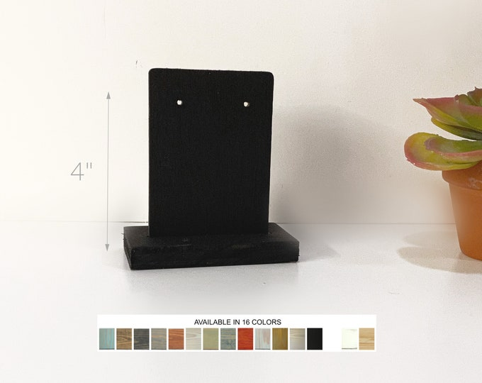 Earring Displays with Card 4-Inch