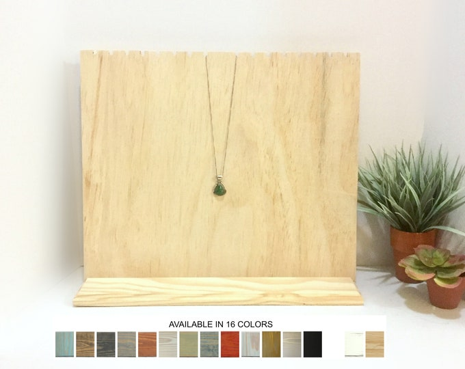 Slotted Necklace Display Board