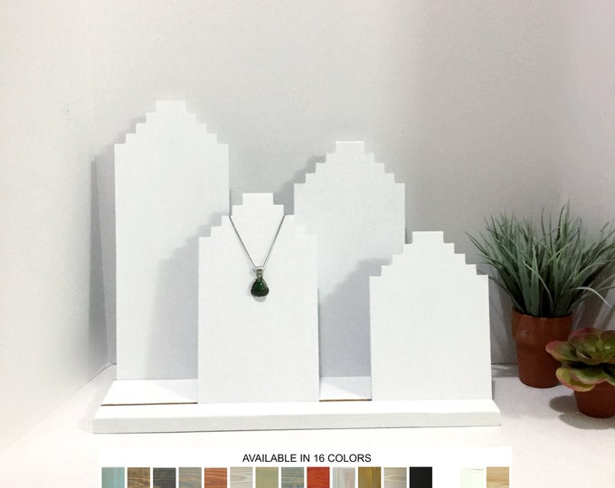Necklace Displays Multi Level Set of 4