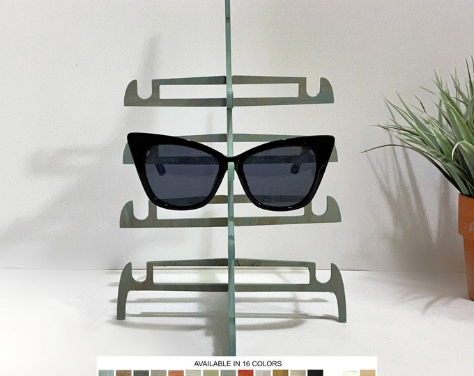 Sunglasses Displays Stands Holders Organizers for Retail Store Boutique Fixtures Trade Craft Shows