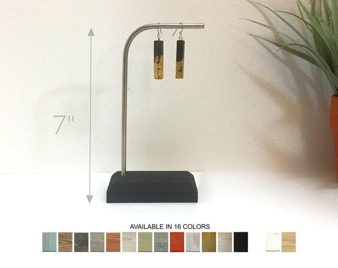Earrings Display Stainless Steel 7-inch