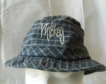712926f21ff97 Mickey Mouse Plaid Bucket Hat Disneyworld