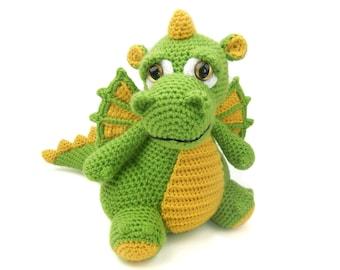 Drake the Dragon - Amigurumi Crochet Pattern