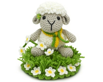 Sheena the Sheep - Amigurumi Crochet Pattern