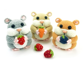 Hamish the Hamster - Amigurumi Crochet Pattern