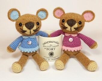 Missy Mouse - Amigurumi Crochet Pattern