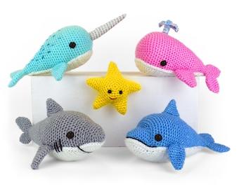 Ocean Buddies - Amigurumi Crochet Pattern