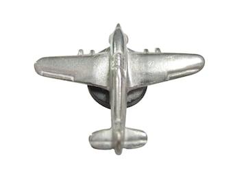 Silver Toned Falcon Jet Plane Pendant Magnet