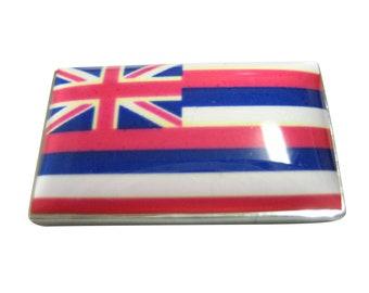 Hawaii State Shaped Bear Flag Sticker Decal Vinyl Outdoors Wilderness HI