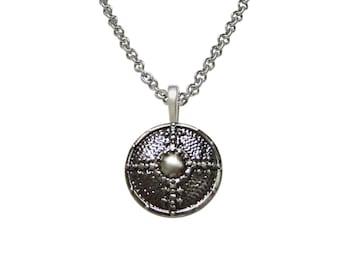 Medieval Shield Pendant Necklace