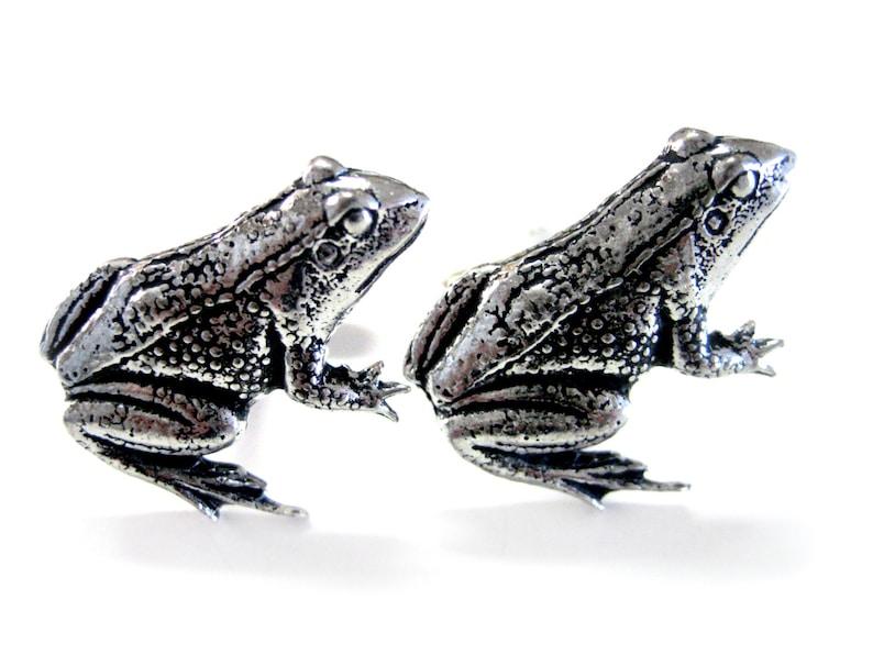 Frog Cufflinks