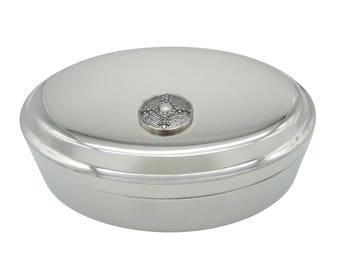 Medieval Shield Pendant Oval Trinket Jewelry Box