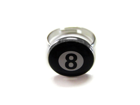 Eight Ball Ring  d55b3feee357