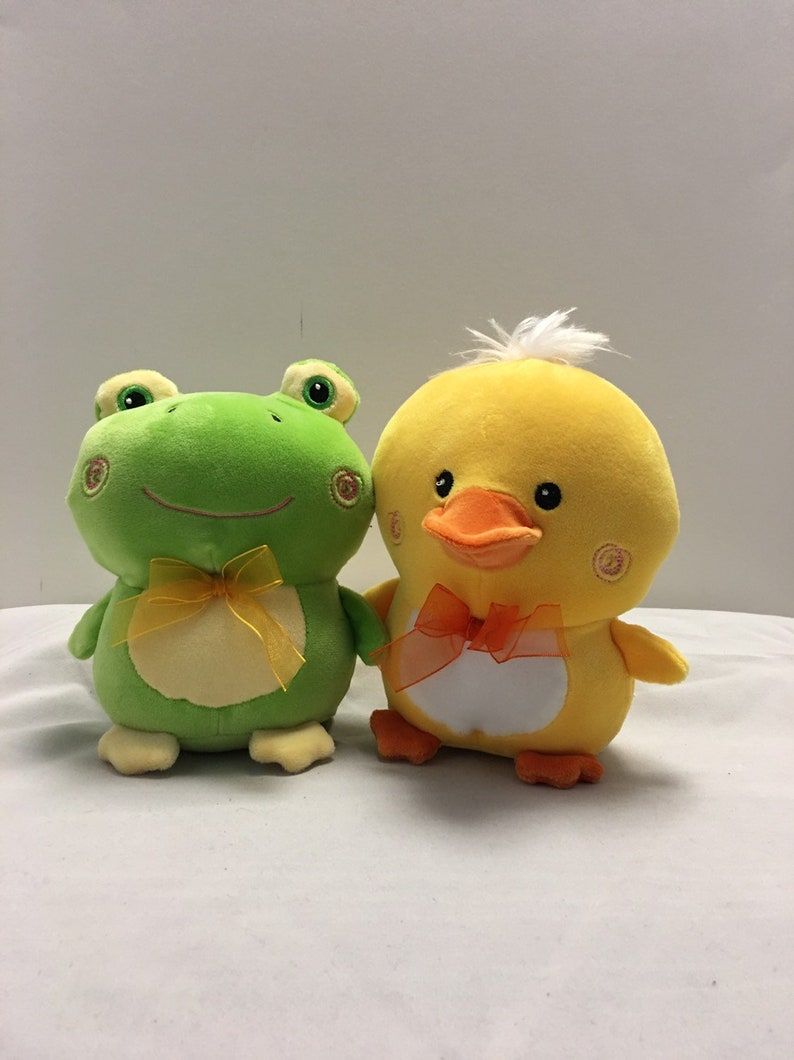 Stuffed Toy Duck Frog Baby/'s First Easter Plush Bunny Personalized Super Soft