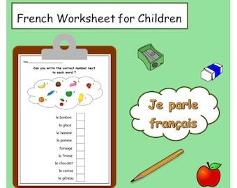 French Printables Worksheets For Teacher Animal Vocabulary Etsy