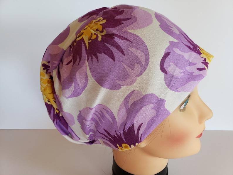 Scrub Hat Sewing Pattern Scrub Cap for Women Sewing Pattern image 0