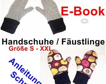 283119822897d4 E-Book - Handschuhe/Fäustlinge, Gr. S-XXL