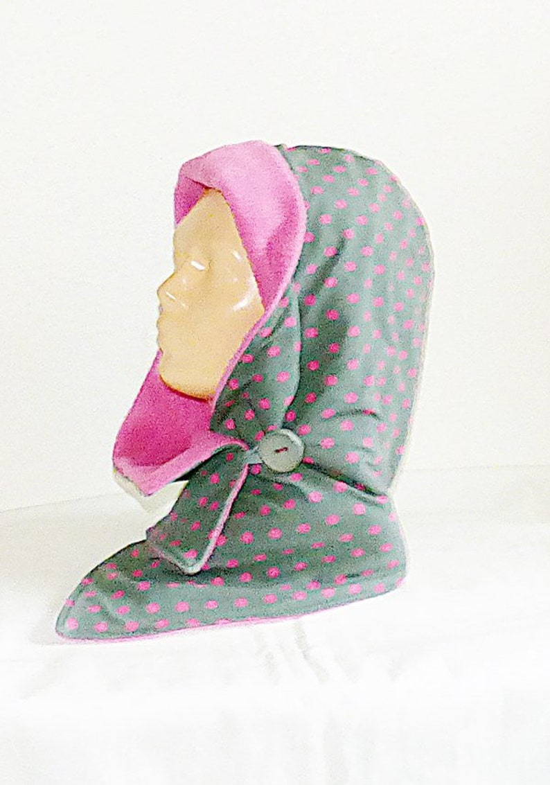 hooded scarf collar hood collar Hooded scarf scarf jersey with fleece scarfs hood fleece collar