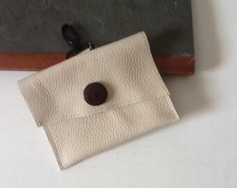 Repurposed Leather Belt Purse, Belt Bag,