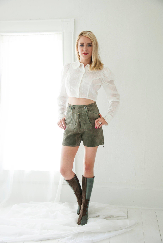 Vintage lederhosen shorts 1d7239c99