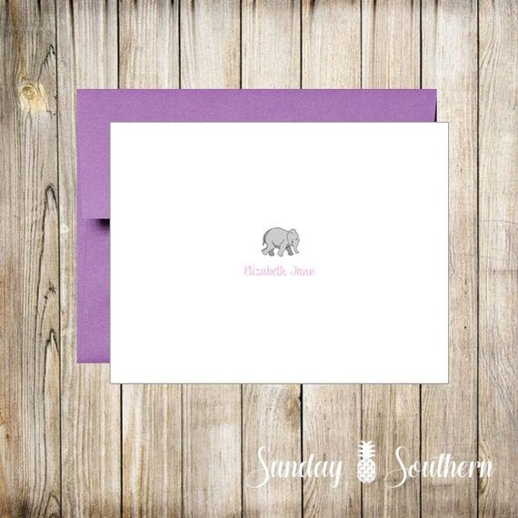 Select Your Theme - Personalized Note Cards - Set of 16 with Envelopes