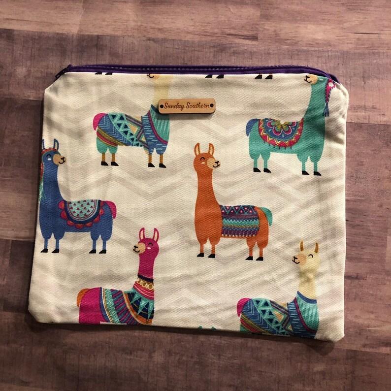 Llama Drama Slouch Sack image 0