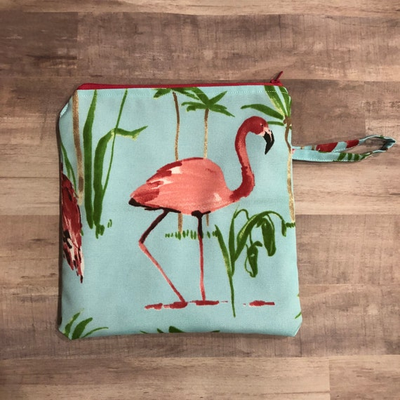 Tropical Flock Wet Bag
