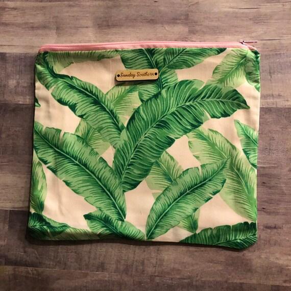 Pretty Palms Slouch Sack