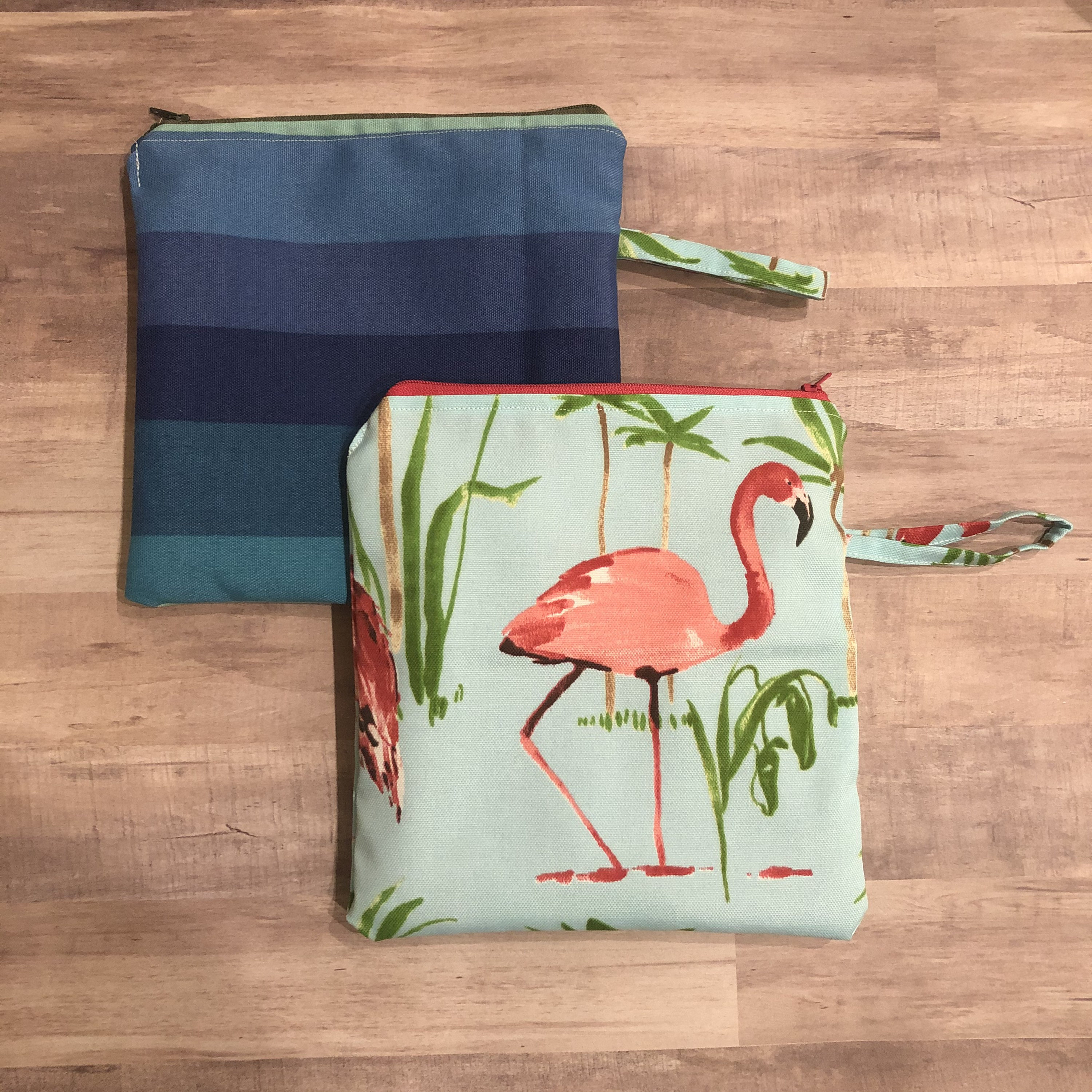 Inside A Tiny Florida Cottage Full Of Tropical Colors: Tropical Flock Wet Bag