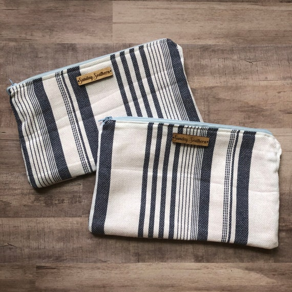 French Stripe Slouch Sack