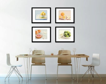Exceptionnel Food Photography   Kitchen Art   Citrus   Set Of Four (4) Fruit Photos    Fine Art Photography Prints   Kitchen/Dining Room Decor BLintonPhotography