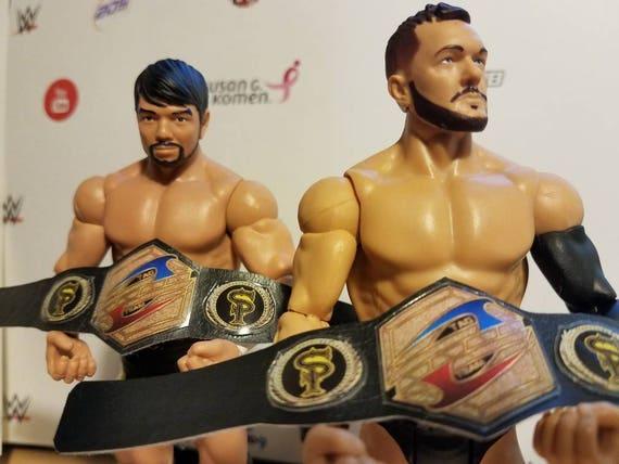 WWE Wrestling Wrestler Figur Heavy Weight Tag Team World Champion Belt