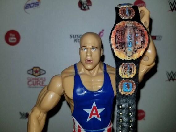 5 Impact Custom Wrestling Figure Belts Action figure not included