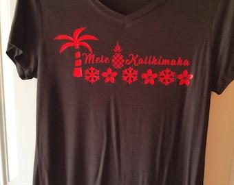 Mele Kalikimaka - Hawaii Christmas shirt