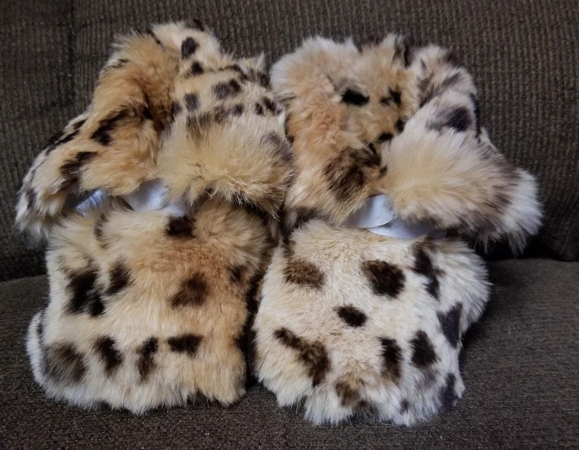 Rabbit Fur Booties - Big Sale eTHTK